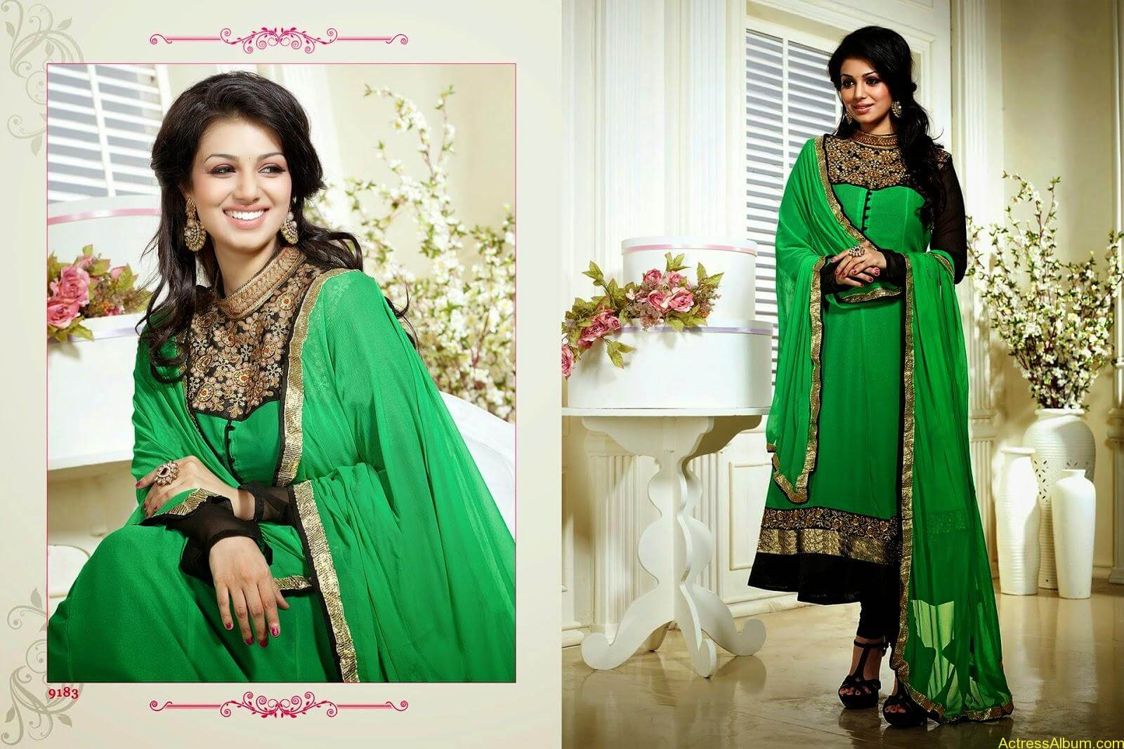 Ayesha Takia hot in SAVARA EMBROIDERY DRESS (5)