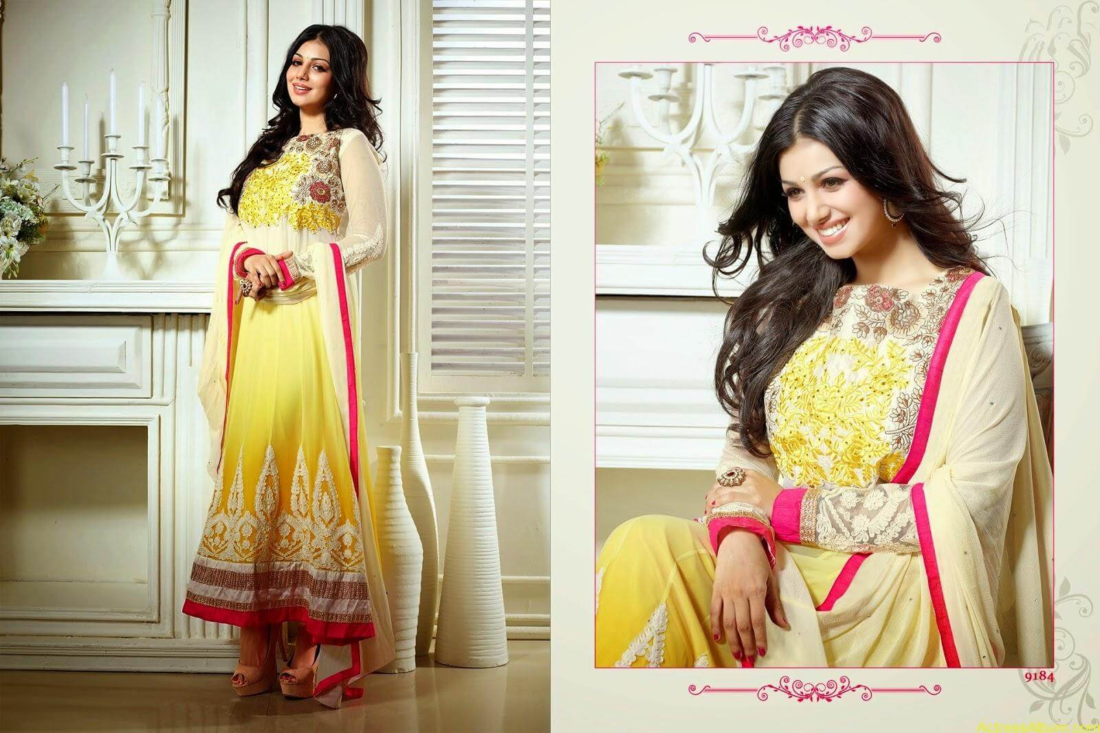 Ayesha Takia hot in SAVARA EMBROIDERY DRESS (6)