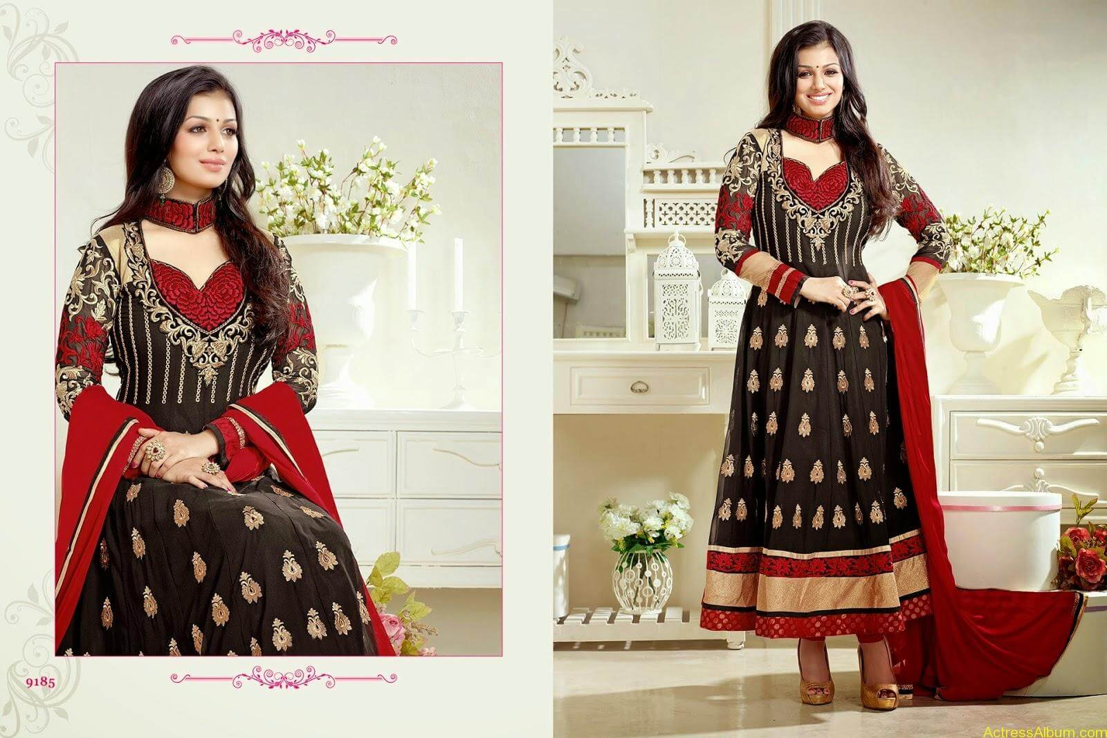 Ayesha Takia hot in SAVARA EMBROIDERY DRESS (7)
