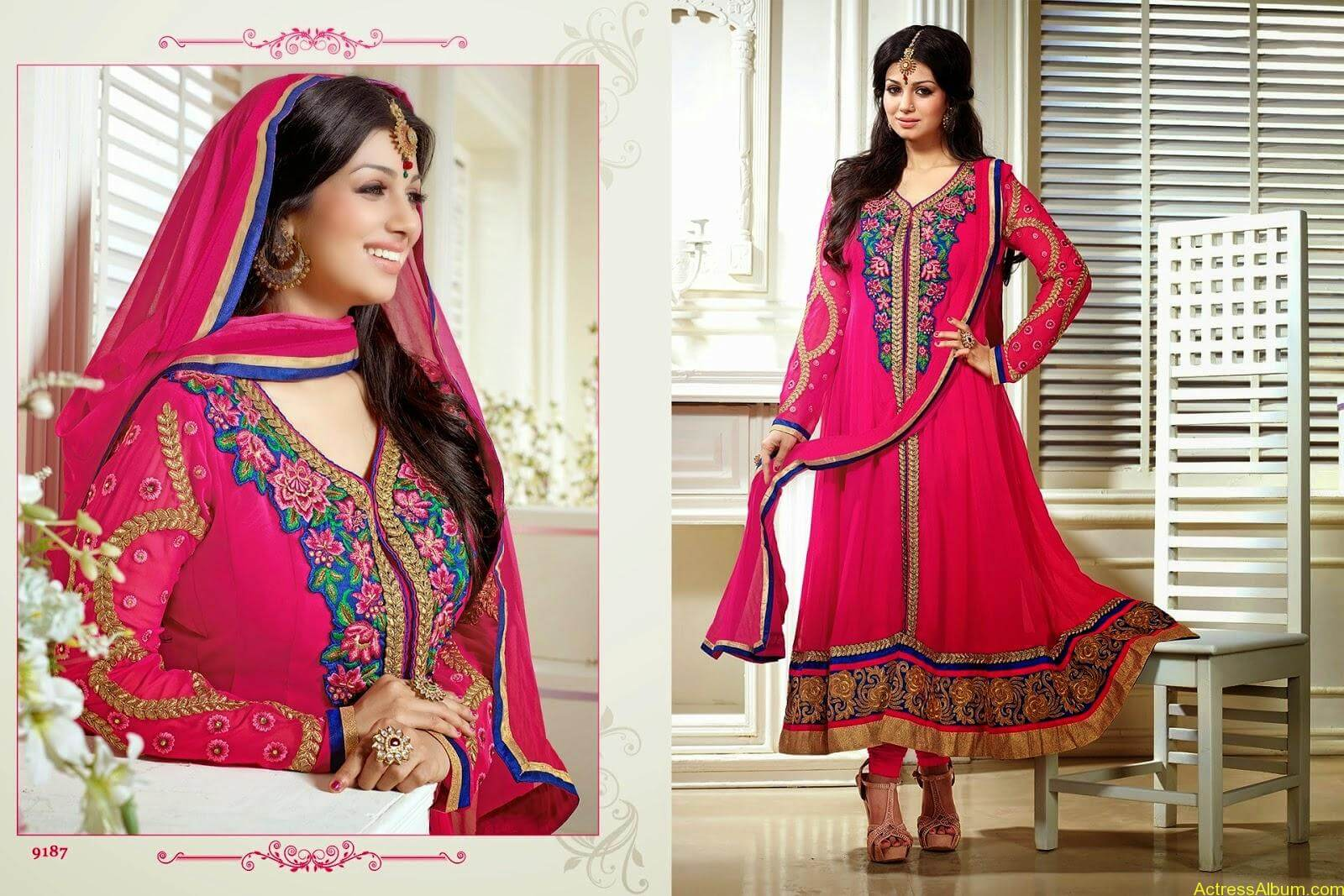 Ayesha Takia hot in SAVARA EMBROIDERY DRESS (9)