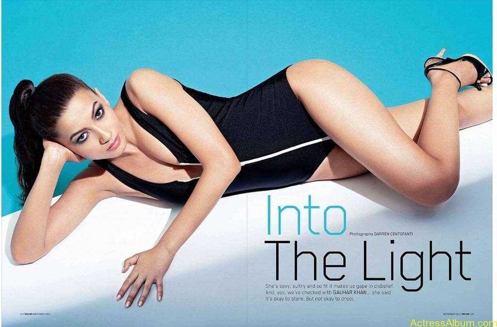 Gauhar Khan bollywood actress swimsuit pics 3
