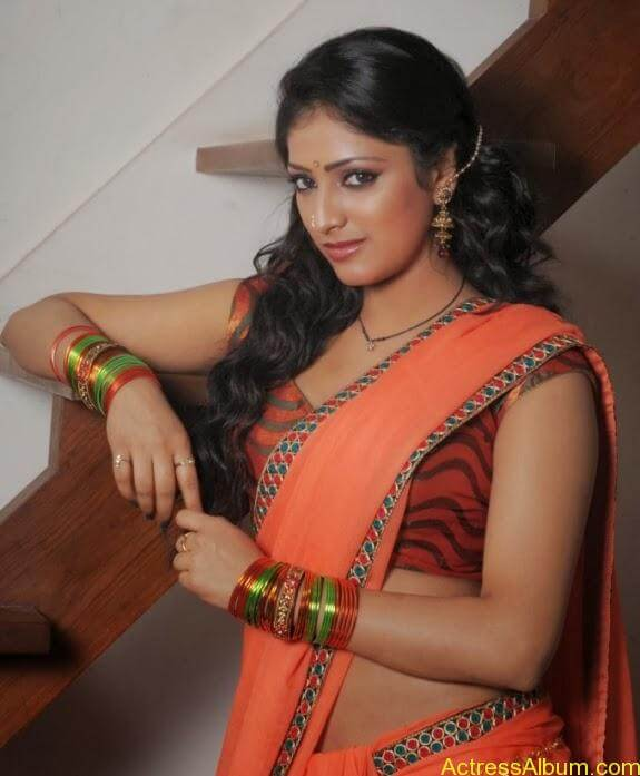 Haripriya hot in saree photos (1)