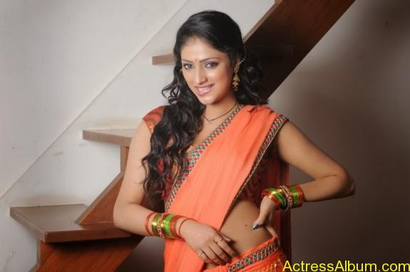 Haripriya hot in saree photos (7)