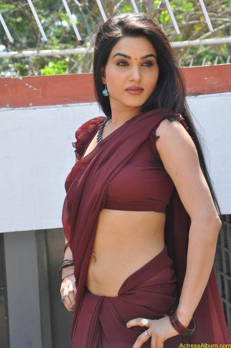 Kavya Singh Hot Saree Stills (13)