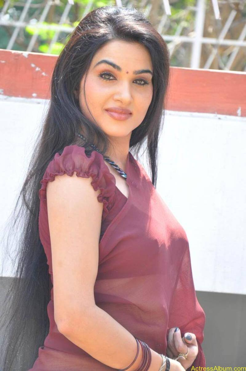 Kavya Singh Hot Saree Stills (14)