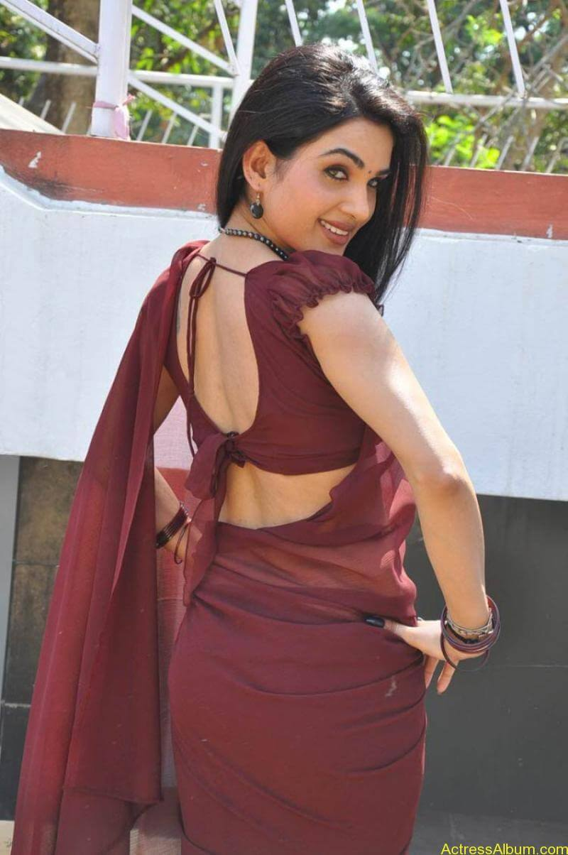 Kavya Singh Hot Saree Stills (18)