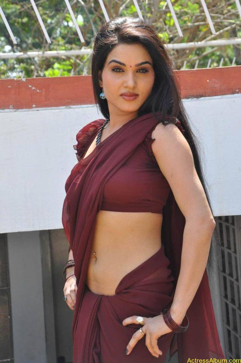 Kavya Singh Hot Saree Stills (19)