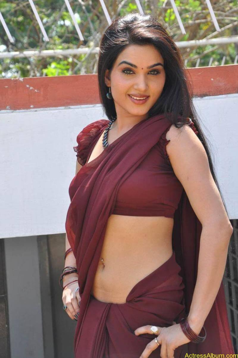 Kavya Singh Hot Saree Stills (24)