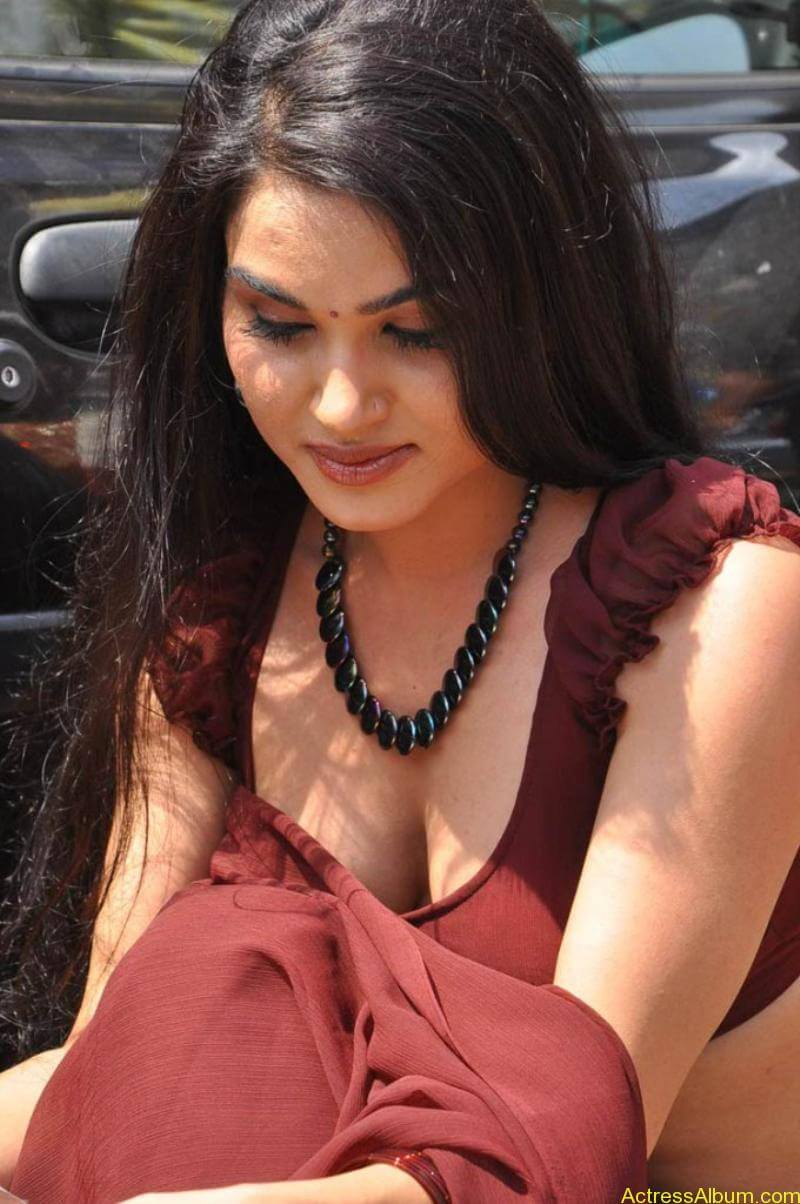 Kavya Singh Hot Saree Stills (5)