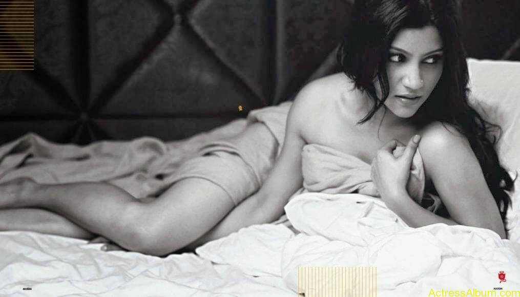 Konkona Sen Hot Photoshoot Photos in Maxim Magazine 7