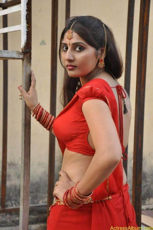 Reshmi hot stills in saree (1)