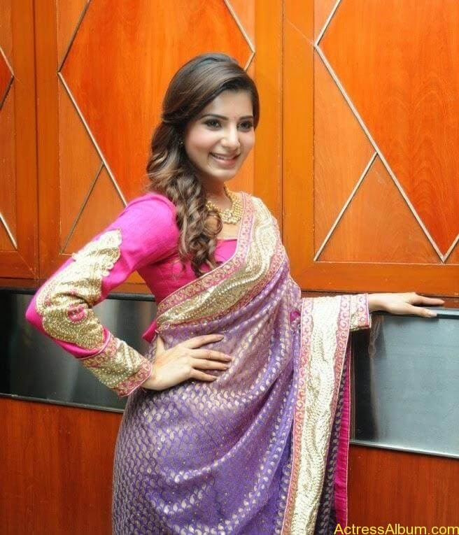 Samantha Saree stills (1)