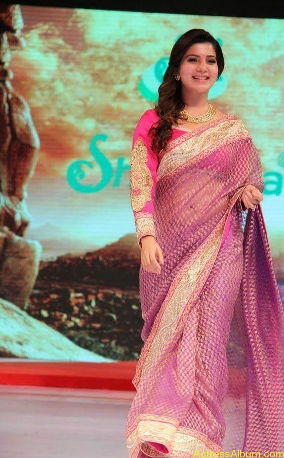 Samantha Saree stills (2)