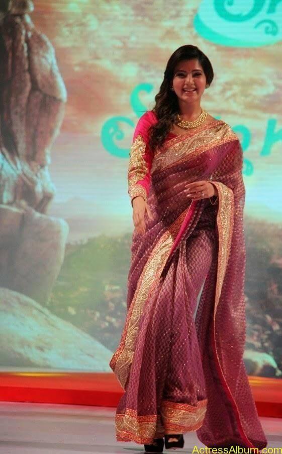 Samantha Saree stills (3)