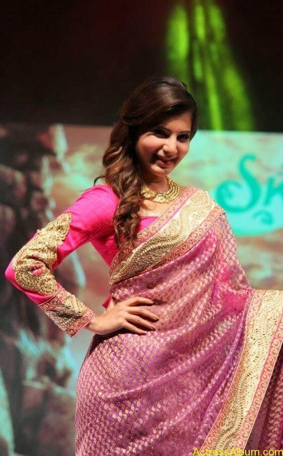 Samantha Saree stills (5)