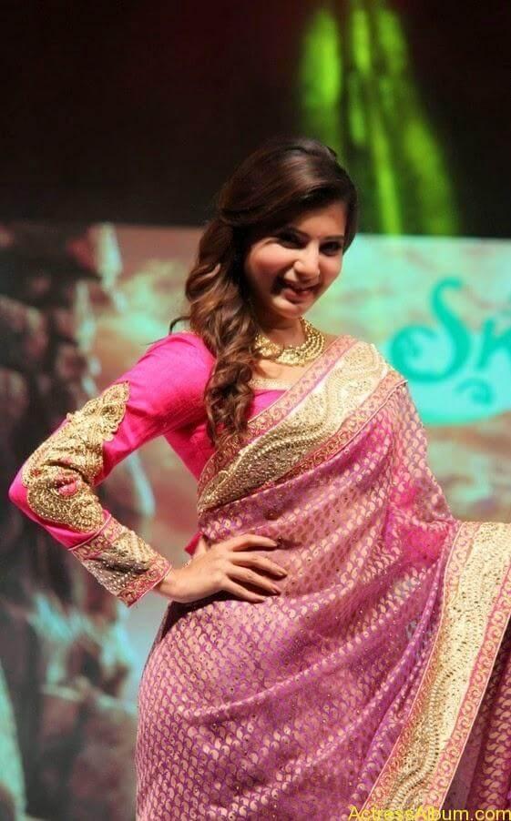 Samantha Saree stills (5)