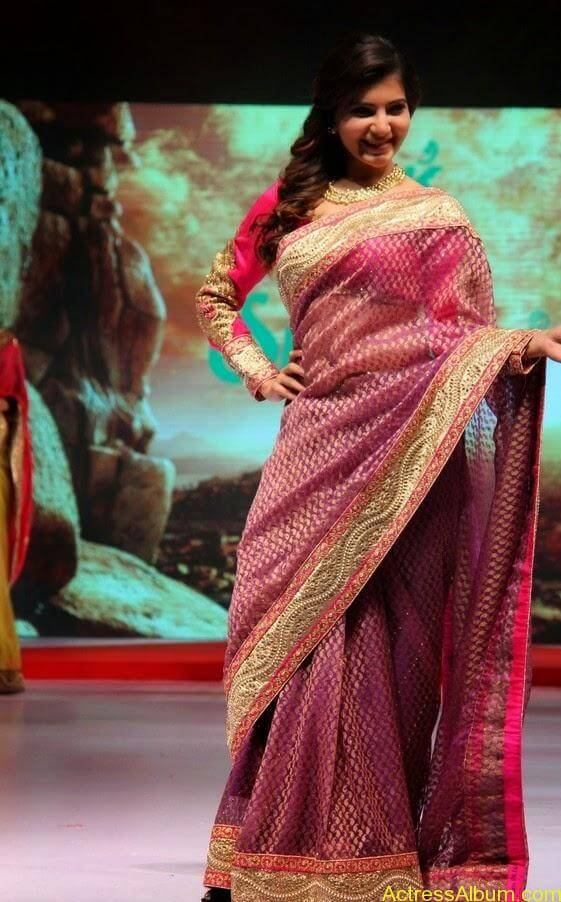 Samantha Saree stills (6)