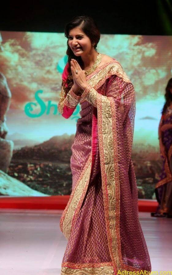Samantha Saree stills (8)