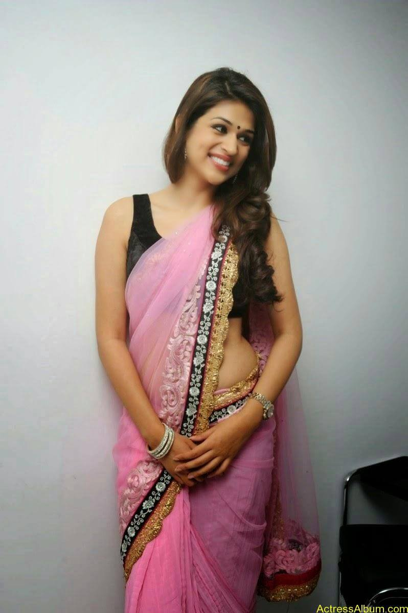 Shraddha Das latest Cute Saree Photo Stills (9)