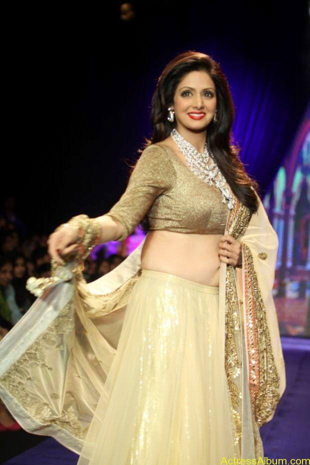 Sridevi  Ramp Walk  at showstopper at IIJW 2014 (3)