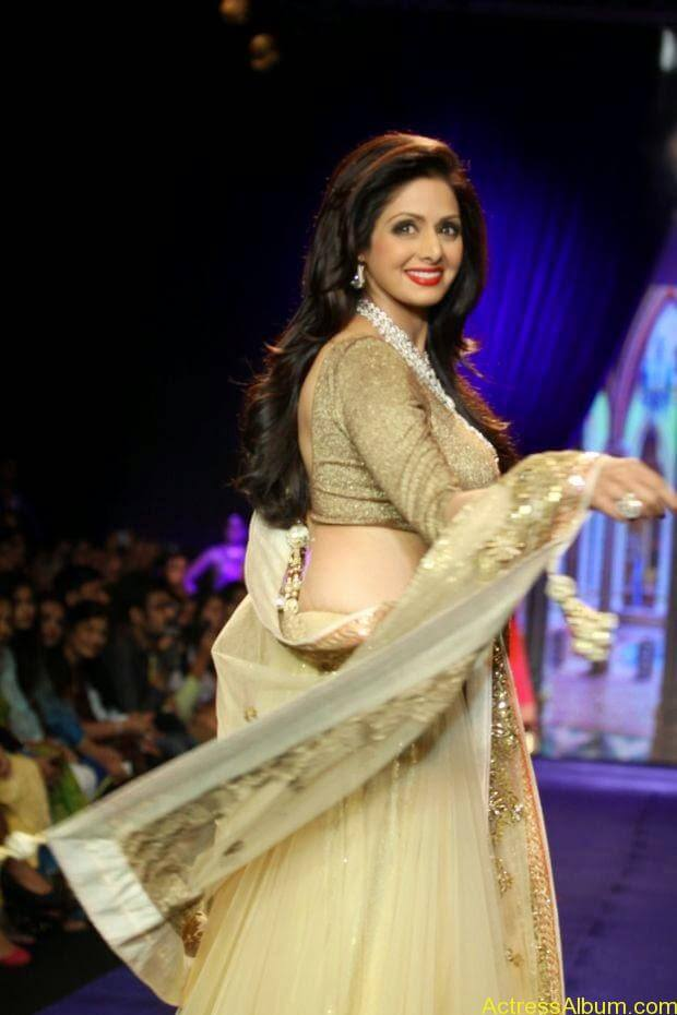 Sridevi  Ramp Walk  at showstopper at IIJW 2014 (4)