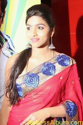 Tamil Actress Dhanshika hot in saree (11)