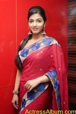 Tamil Actress Dhanshika hot in saree (19)