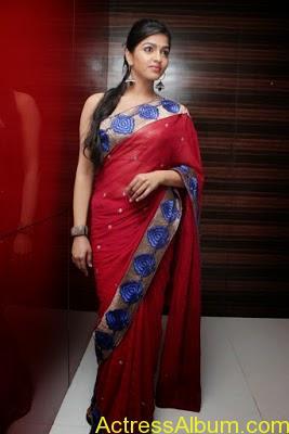 Tamil Actress Dhanshika hot in saree (25)
