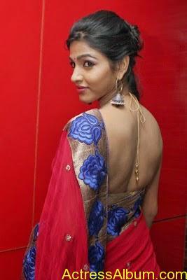 Tamil Actress Dhanshika hot in saree (5)