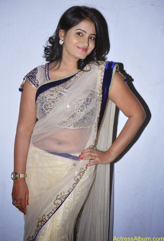 Tanusha in saree photos (1)