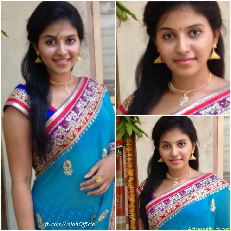 Telugu Actress Anjali Hot 1