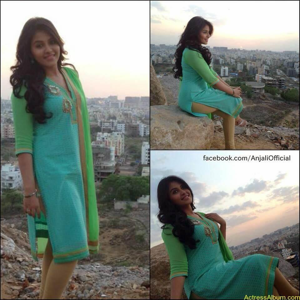 Telugu Actress Anjali Hot 10