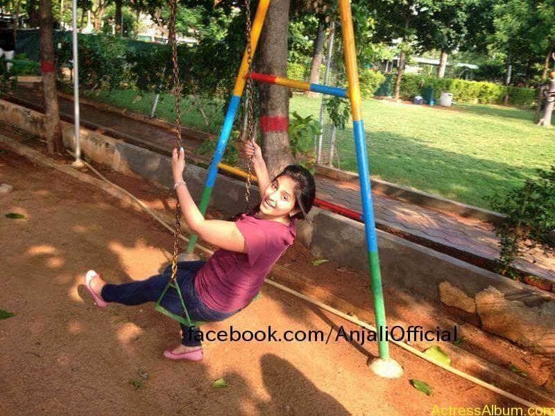 Telugu Actress Anjali Hot 15