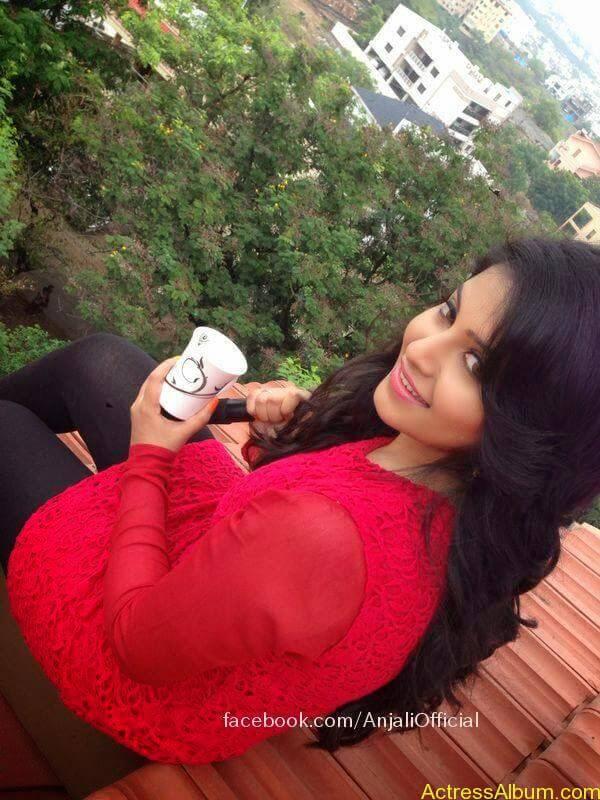 Telugu Actress Anjali Hot 2