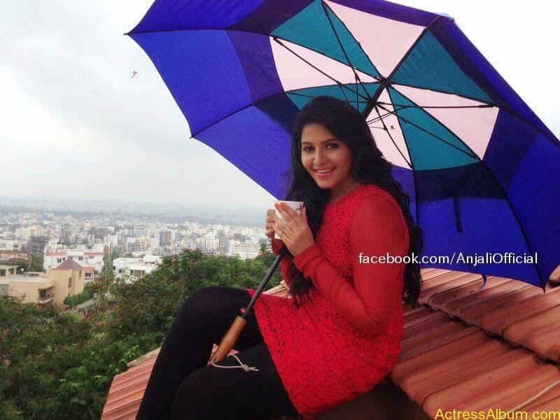 Telugu Actress Anjali Hot 5