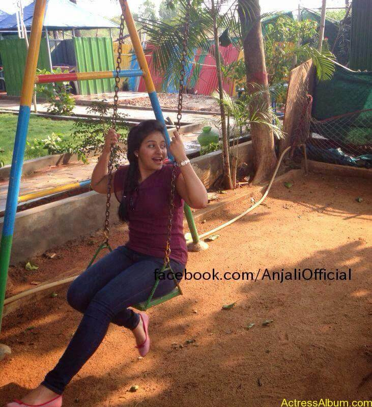 Telugu Actress Anjali Hot 8