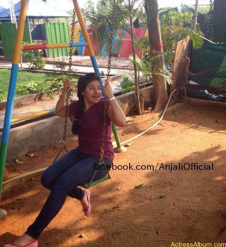Telugu Actress Anjali Hot 8