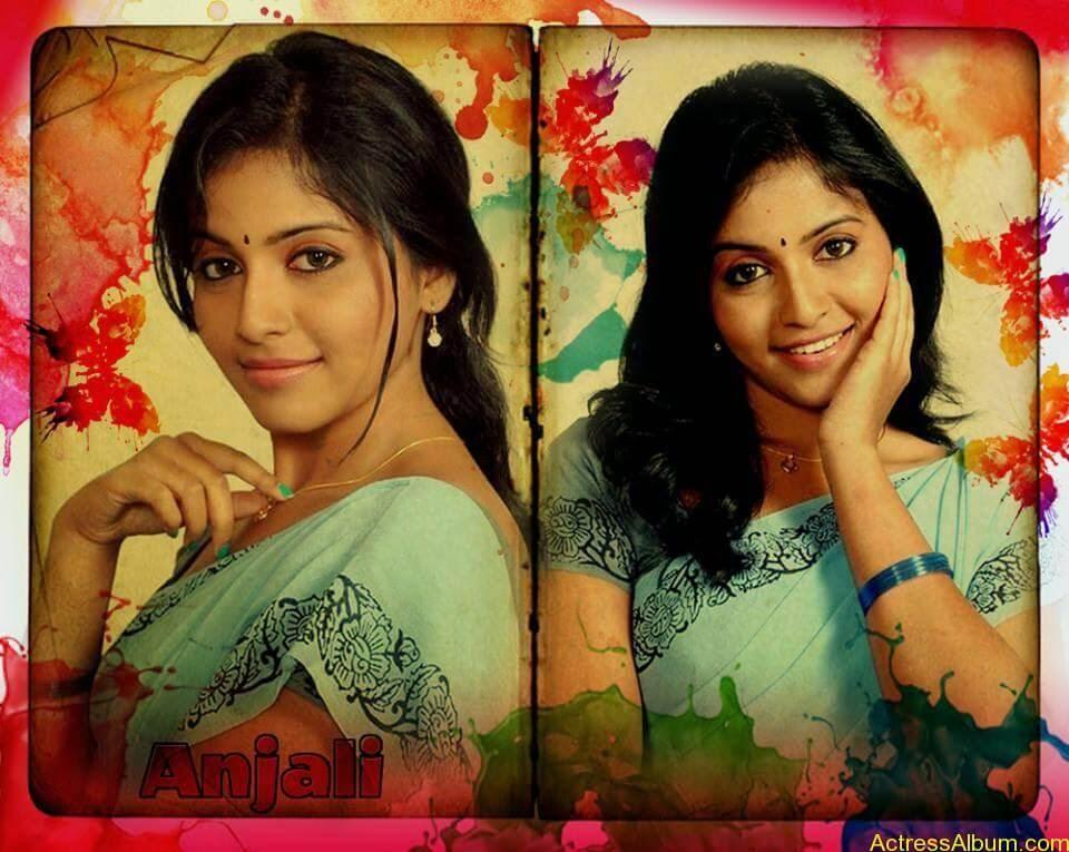 Telugu Actress Anjali Hot