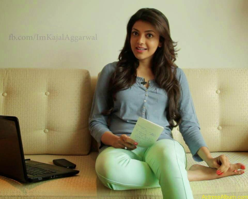 Telugu Actress kajal Agarwal Hot & Horny Pics 9