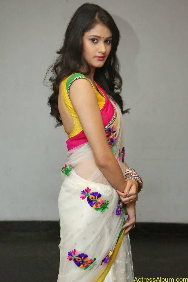 Telugu Actress Khushi hot saree stills  (5)