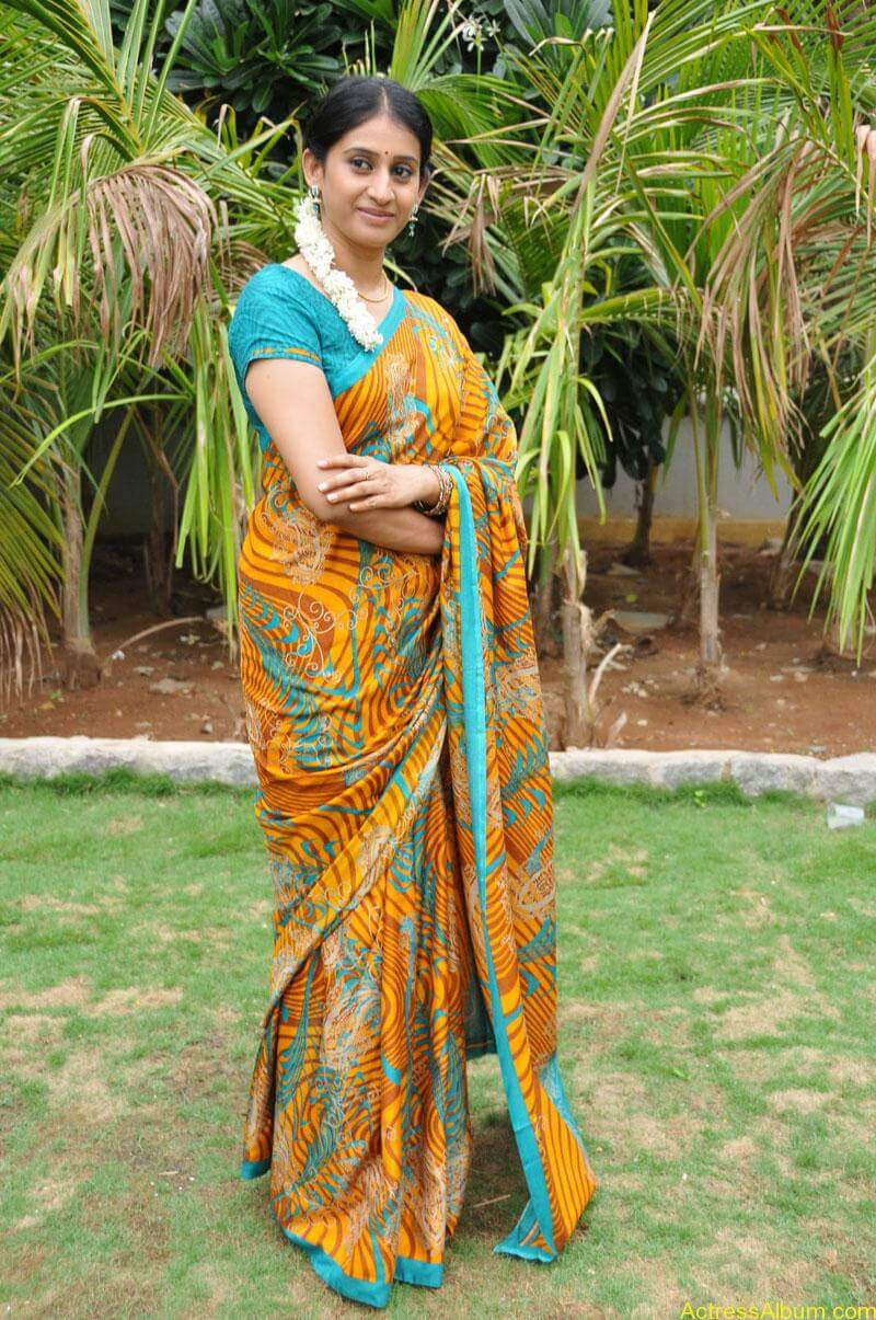Tv serial actress meena photos (6)