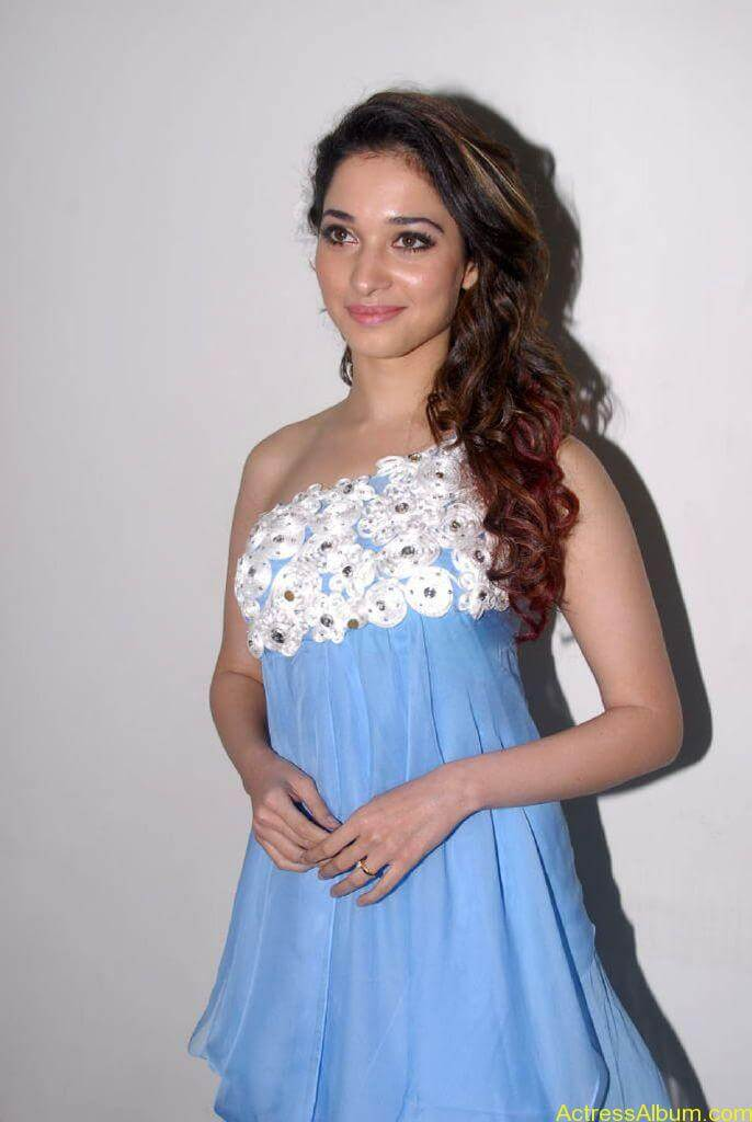 Actress Tamanna at Audio Release Function Pictures 7