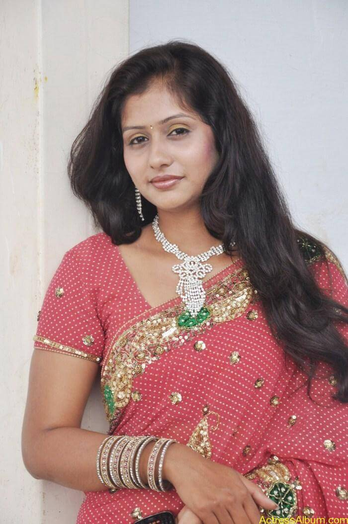 Actress Harini in Saree Stills
