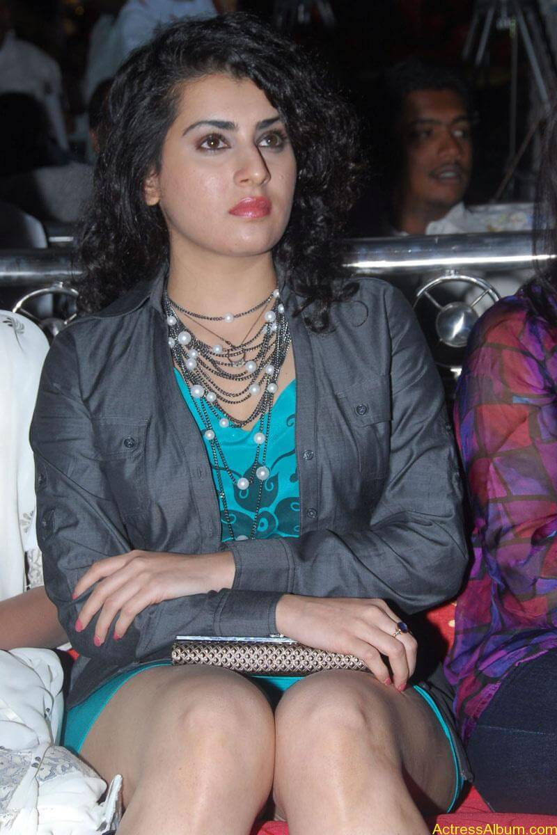 Archana Hot Stills at Manmadha Banam Audio Launch (10)
