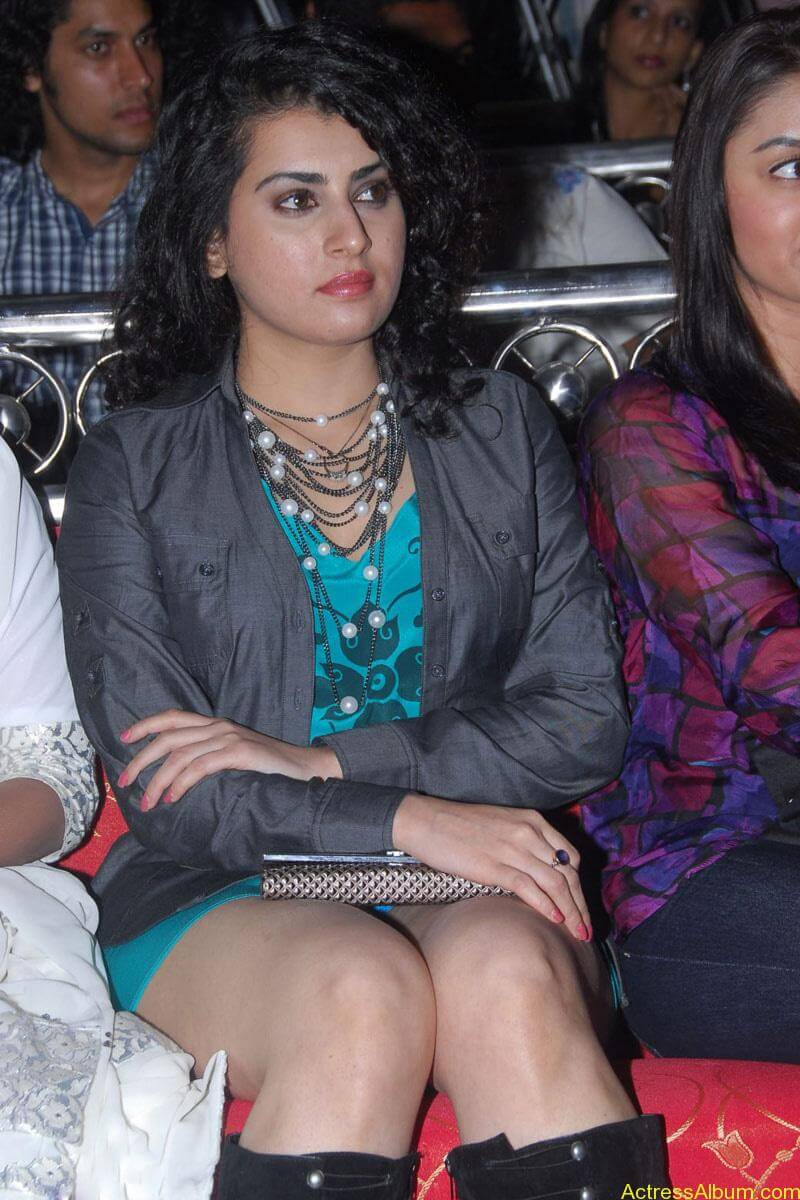 Archana Hot Stills at Manmadha Banam Audio Launch (12)