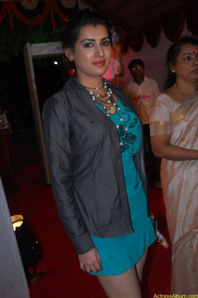 Archana Hot Stills at Manmadha Banam Audio Launch (14)