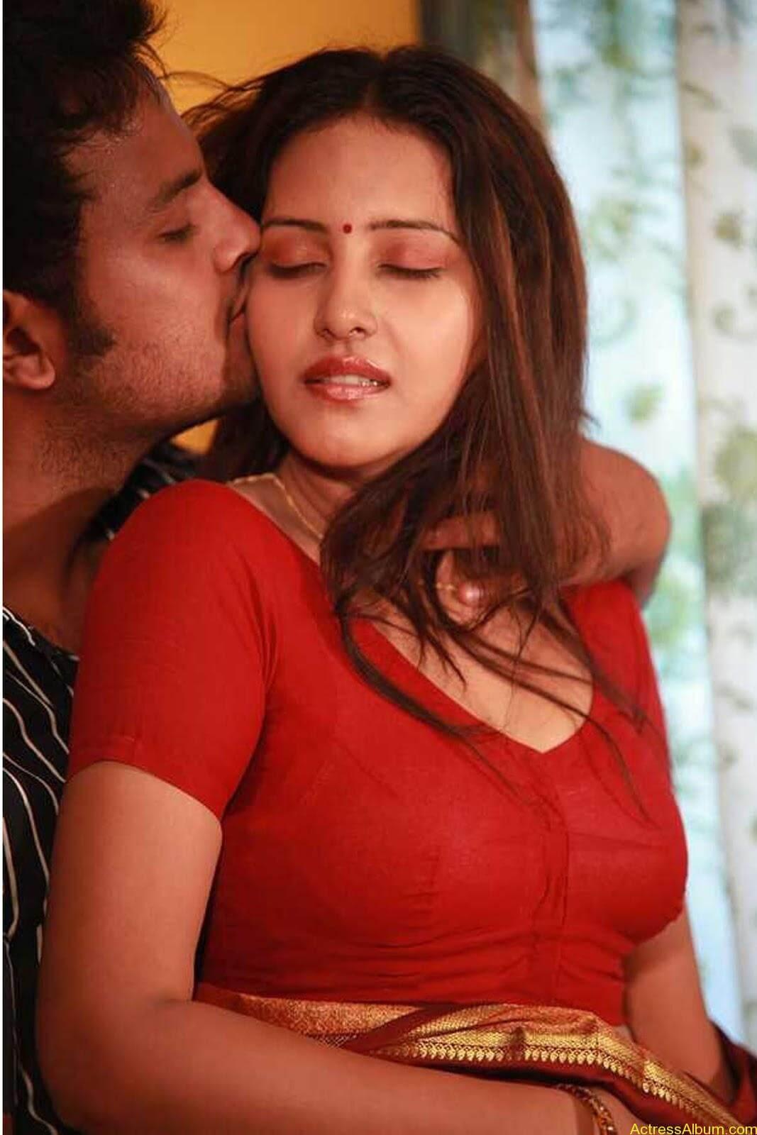 Archana Sharma very hot bed stills in Shanthi Movie (1)