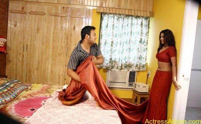 Archana Sharma very hot bed stills in Shanthi Movie (6)