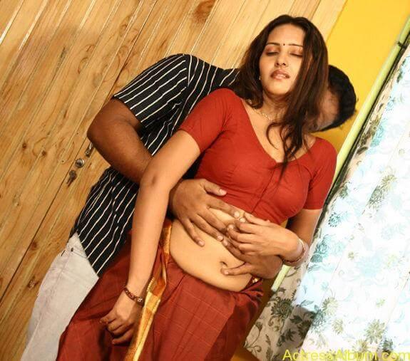 Archana Sharma very hot bed stills in Shanthi Movie (7)