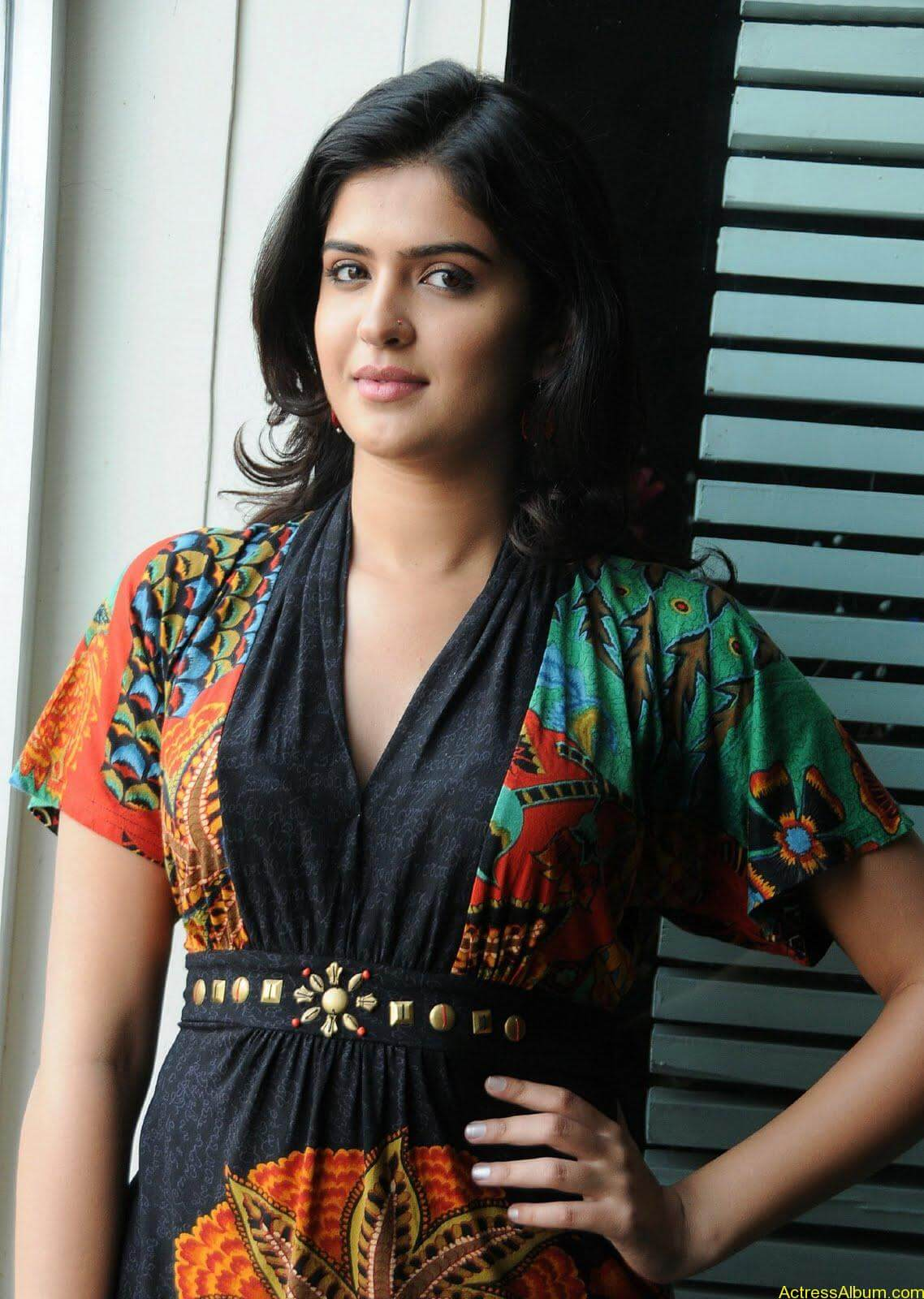 Deeksha Seth Hot Stills at Superhit Magazine Brochure Launch (1)